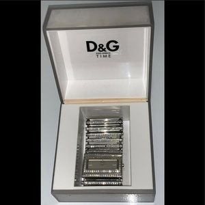D&G Time 3 ATM Genuine Stainless Steel Watch